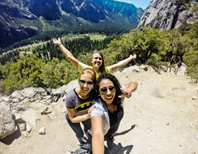 3 Women exploring Americas national parks
